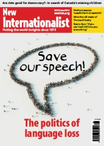 Save our speech - the politics of language loss