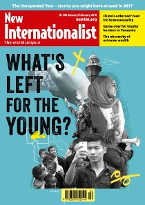 Issue 509 - What's left for the young?